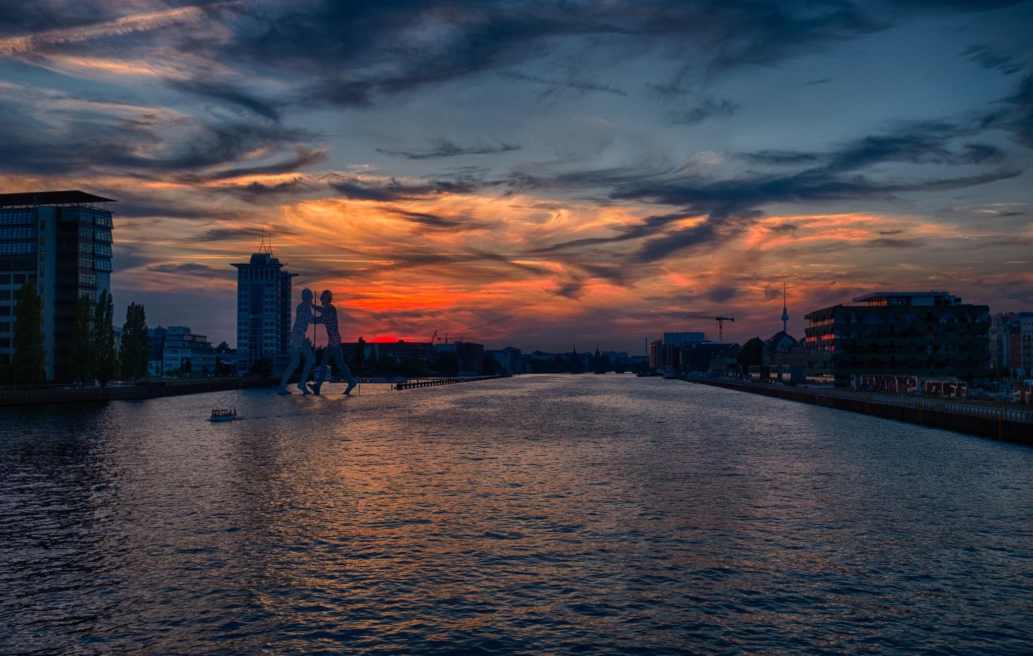 Berlin Elsenbrücke, Fuji X100T